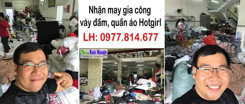 Shop Khởi Nghiệp - xưởng may váy đầm, quần áo giá sỉ