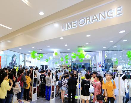 Shop áo thun nữ Lime Orange