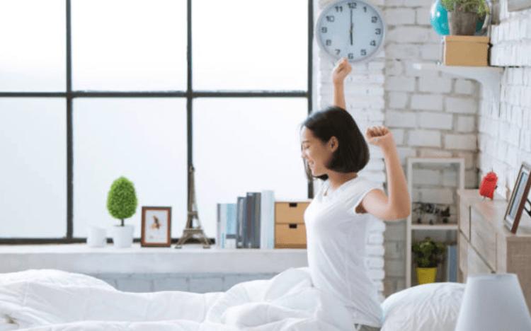 Bí quyết dưỡng trắng da - Ngủ sớm và đủ giấc
