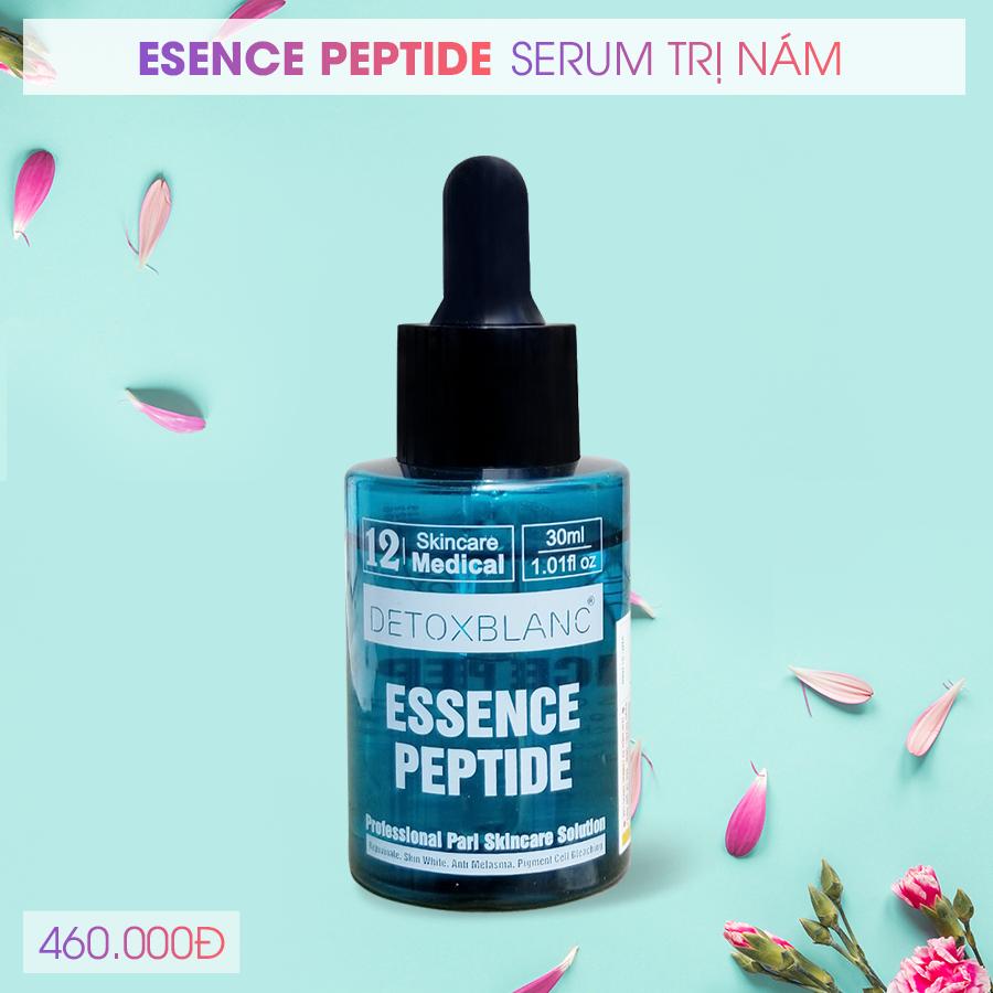 Điều trị nám da cùng với Serum nám Detox Blanc PEPTIDE.
