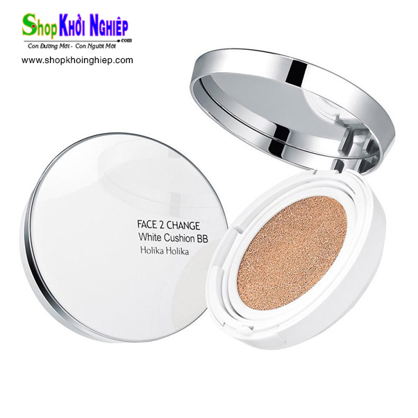 Holika Holika Face 2 Change White Cushion