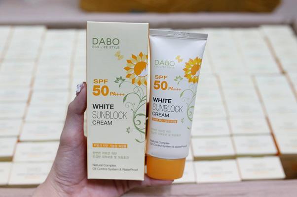 Kem chống nắng DaBo White SunBlock