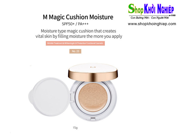 Missha M Magic Cushion Moisture Foundation