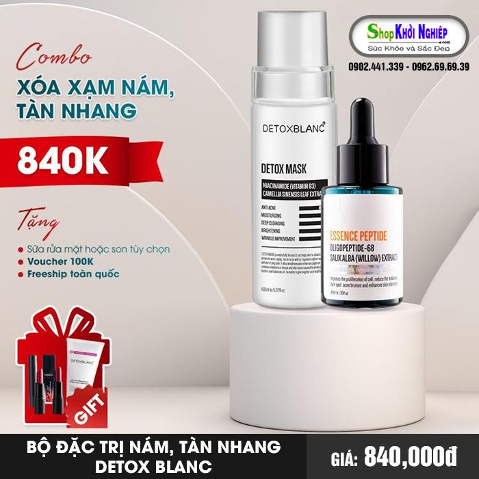 Bộ Đặc Trị Nám, Tàn Nhang Detox Blanc
