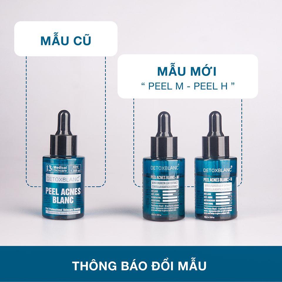 Detox Blanc - Thay đổi mẫu Pell lộc đề mới