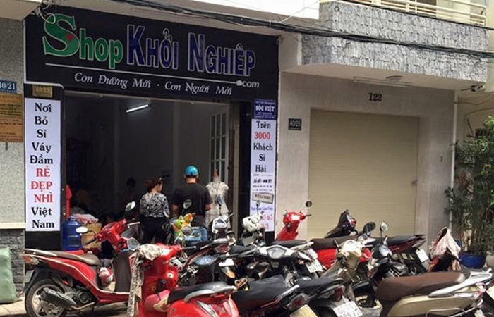 Shop Khởi Nghiệp - Cửa hàng mỹ phẩm chính hãng