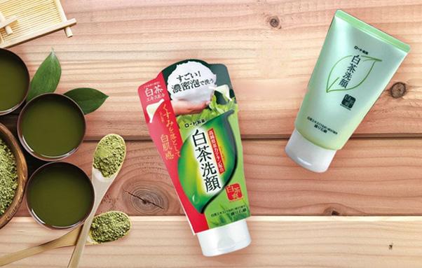 Sữa rửa mặt Rohto Shirochasou Green Tea