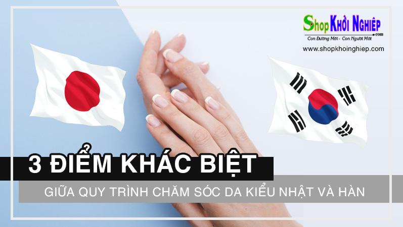 3 Điểm khác biệt cơ bản giữa quy trình chăm sóc da kiểu Nhật và chăm sóc da kiểu Hàn