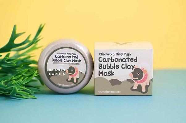 Mặt nạ thải độc Elizavecca Milky Piggy Carbonated Bubble Clay Mask