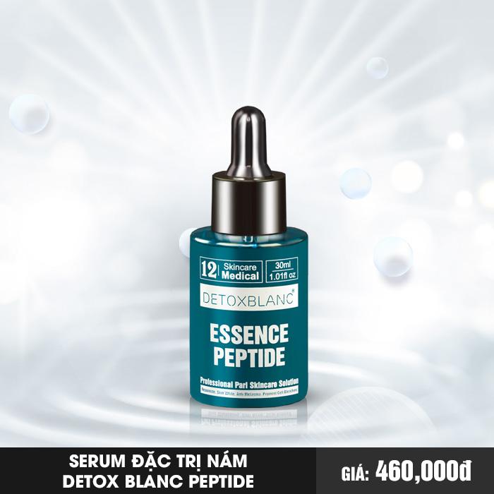 Serum đặc trị nám Detox Blanc Peptide