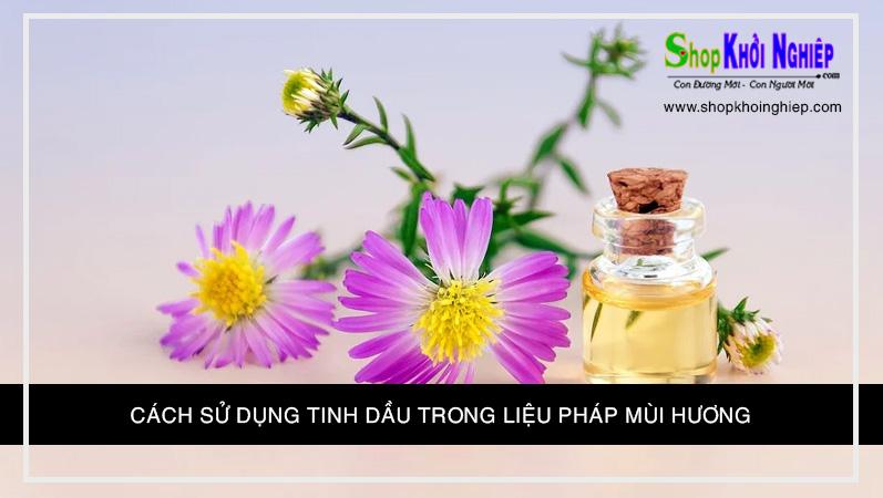 Cách Sử Dụng Tinh Dầu Trong Liệu Pháp Mùi Hương