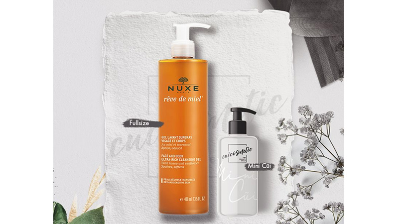 Thương hiệu mỹ phẩm Pháp Nuxe