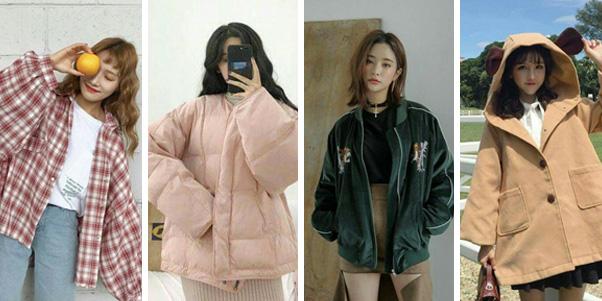 Nên chọn mua áo khoác nữ hơi rộng một chút