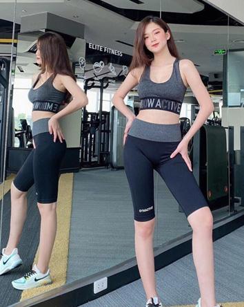 Chất liệu quần tập gym nữ