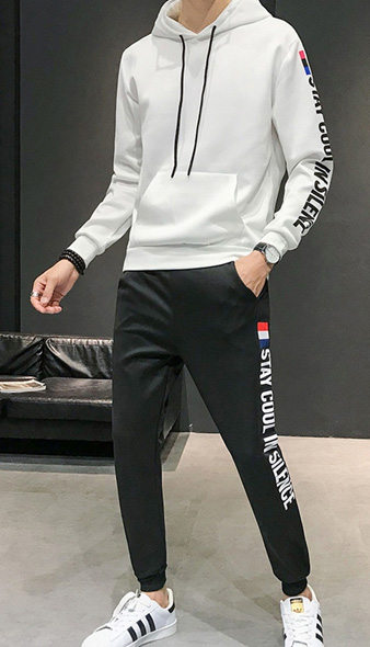 Quần áo thể thao nam dài vải dù
