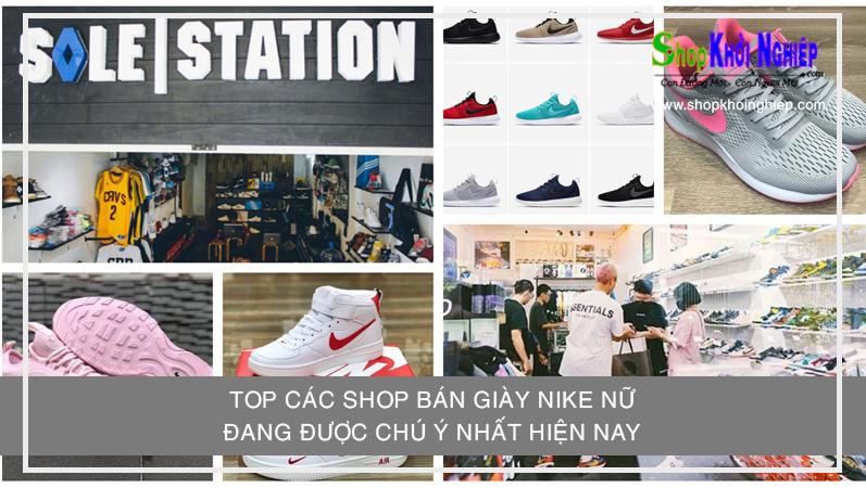 TOP các shop bán giày Nike nữ đang được chú ý nhất hiện nay