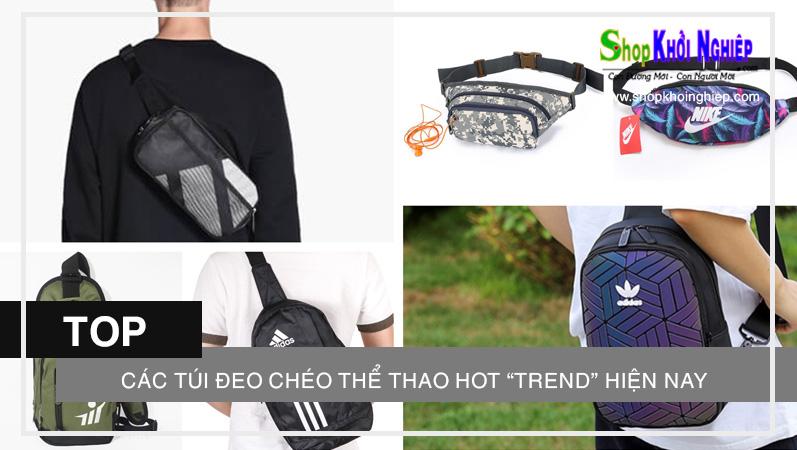 """TOP các túi đeo chéo thể thao hot """"trend"""" hiện nay"""