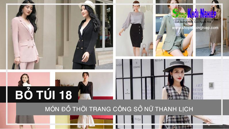 Bỏ túi 18 món đồ thời trang công sở nữ thanh lịch theo xu hướng mới nhất