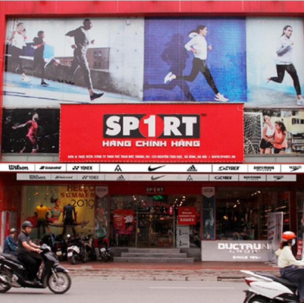 Đồ thể thao chính hãng tại cửa hàng Siêu thị Sport 1