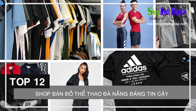 TOP 12 shop bán đồ thể thao Đà Nẵng đáng tin cậy