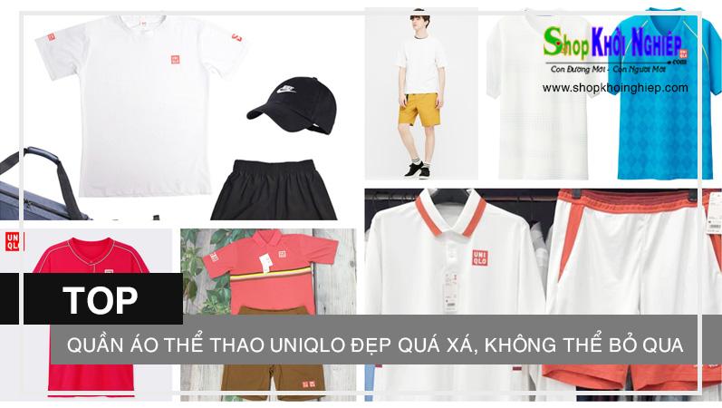 TOP quần áo thể thao Uniqlo đẹp quá xá, không thể bỏ qua