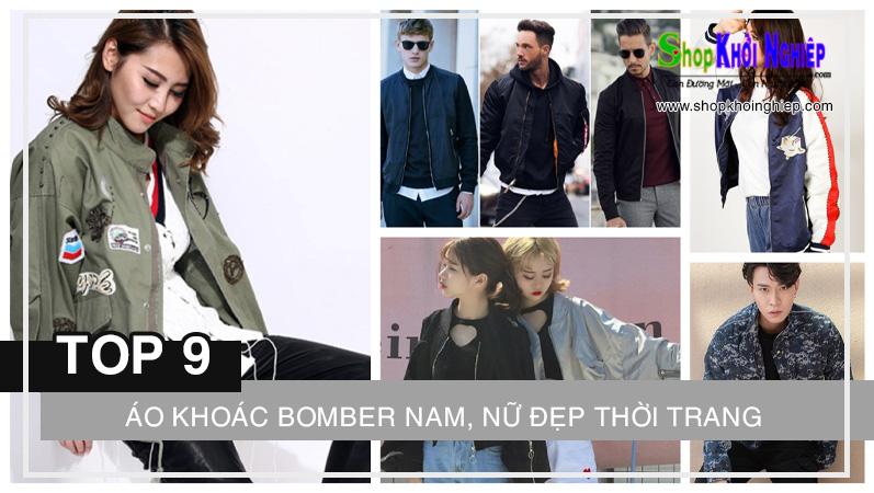 TOP 9 phong cách áo khoác bomber nam, nữ đẹp thời trang năm 2021