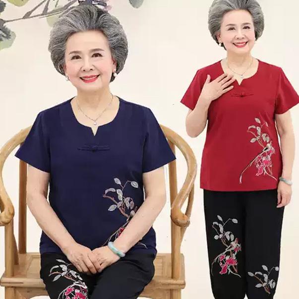 Người bà sẽ trở nên sang trọng và quý phái hơn, trông trẻ trung hơn khi diện lên các thiết kế đồ bộ đẹp