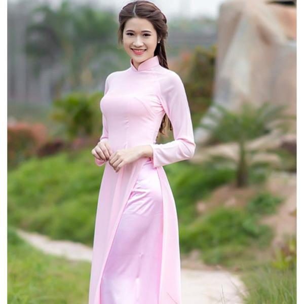 Những mẫu áo dài đẹp đơn giản được rất nhiều phái đẹp lựa chọn
