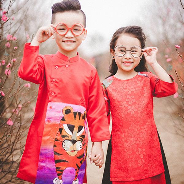 Mẫu áo dài trẻ em đẹp