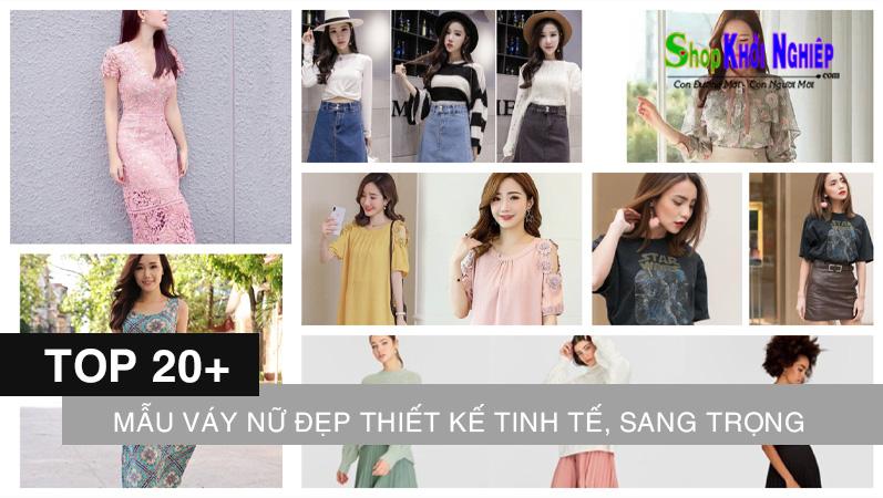 20+ mẫu váy nữ đẹp 2021 thiết kế tinh tế, sang trọng, nữ tính
