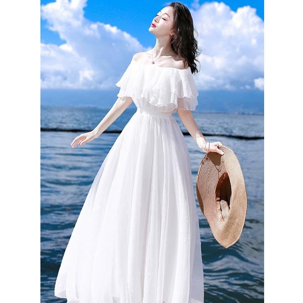 Váy maxi mang đến sự nhẹ nhàng và thoải mái