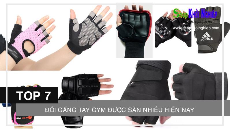Lợi ích của việc mang găng tay tập gym là gì? TOP 7 đôi găng tay được săn nhiều hiện nay
