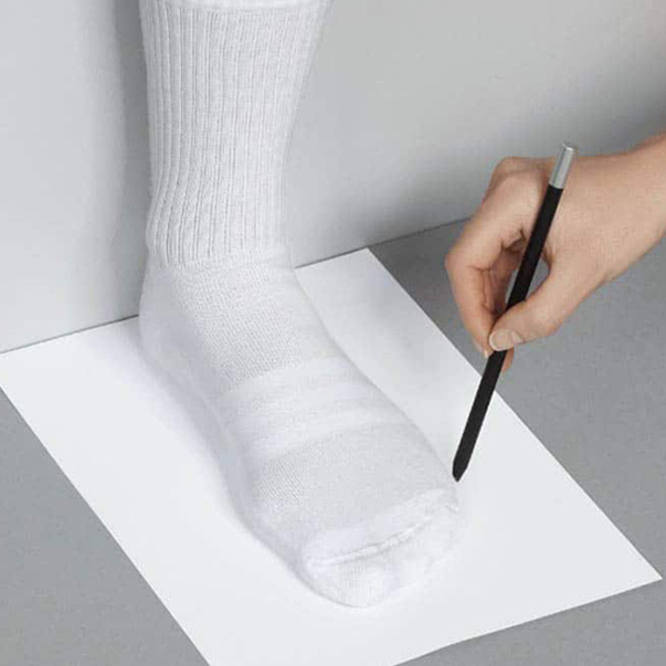 Cách đo bàn chân chọn size giày nữ