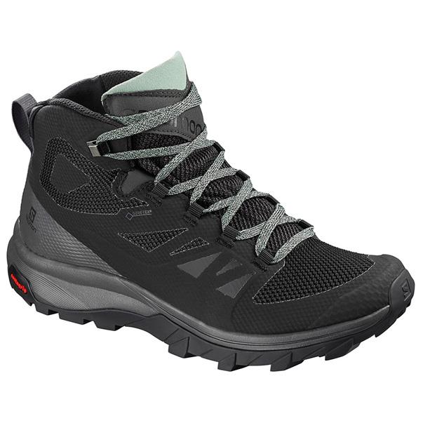 Giày leo núi nữ Salomon Outline MID GTX