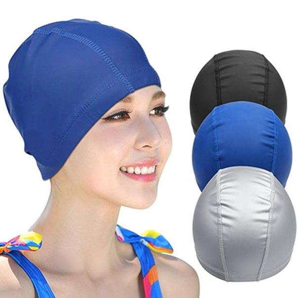 Dụng cụ bơi lội nữ - Mũ bơi