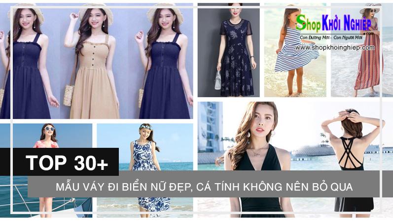 TOP 30+ mẫu váy đi biển nữ đẹp, cá tính không nên bỏ qua