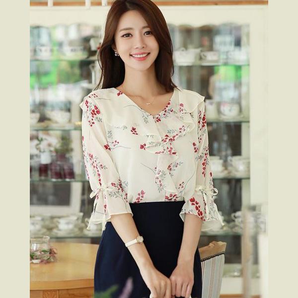 Thời trang công sở Hàn Quốc nữ thanh lịch