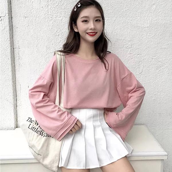 Nữ sinh có nhiều lựa chọn diện những bộ phong cách Hàn Quốc